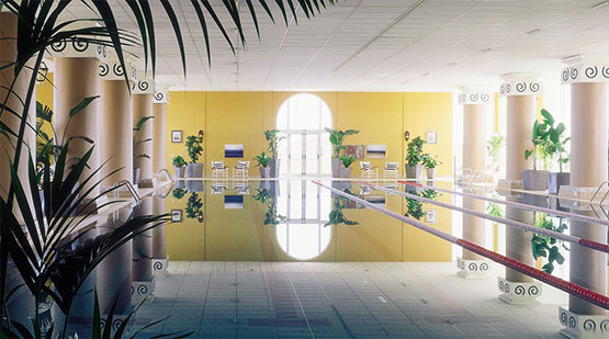 La Manga Club spa indoor pool