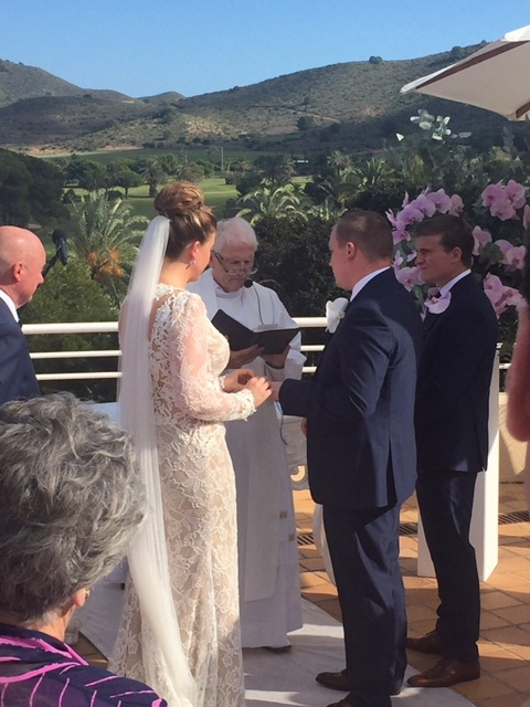McMahon Wedding Ceremony